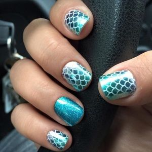"""Jamberry Nail wraps in """"Mermaid Tales"""""""